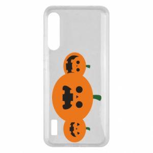 Etui na Xiaomi Mi A3 Pumpkins with scary faces