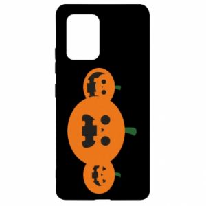 Etui na Samsung S10 Lite Pumpkins with scary faces
