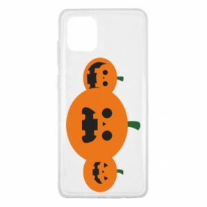 Etui na Samsung Note 10 Lite Pumpkins with scary faces