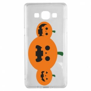 Etui na Samsung A5 2015 Pumpkins with scary faces