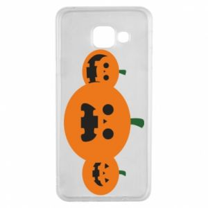 Etui na Samsung A3 2016 Pumpkins with scary faces