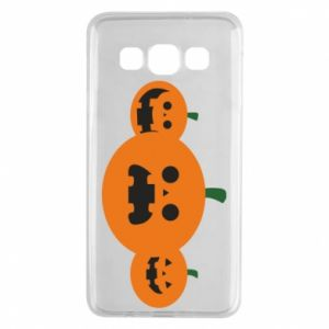 Etui na Samsung A3 2015 Pumpkins with scary faces