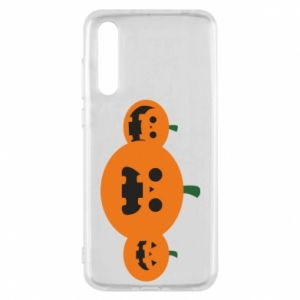 Etui na Huawei P20 Pro Pumpkins with scary faces