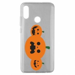 Etui na Huawei Honor 10 Lite Pumpkins with scary faces