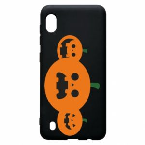 Etui na Samsung A10 Pumpkins with scary faces