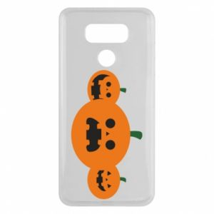 Etui na LG G6 Pumpkins with scary faces