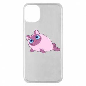 Etui na iPhone 11 Pro Purple cat mermaid