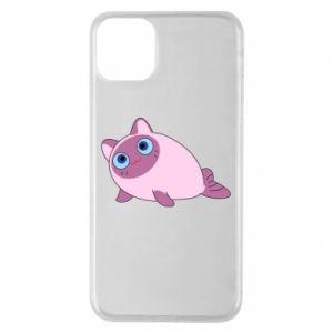 Etui na iPhone 11 Pro Max Purple cat mermaid