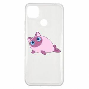 Etui na Xiaomi Redmi 9c Purple cat mermaid