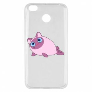 Etui na Xiaomi Redmi 4X Purple cat mermaid