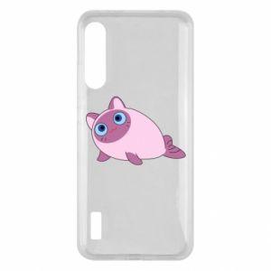 Etui na Xiaomi Mi A3 Purple cat mermaid
