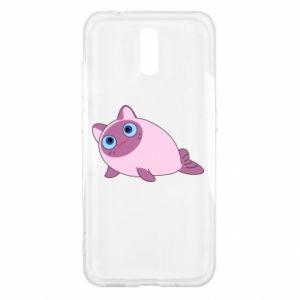 Etui na Nokia 2.3 Purple cat mermaid