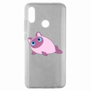 Etui na Huawei Honor 10 Lite Purple cat mermaid