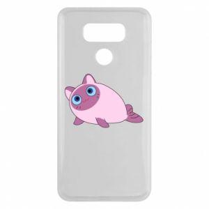 Etui na LG G6 Purple cat mermaid