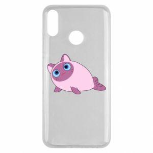 Etui na Huawei Y9 2019 Purple cat mermaid