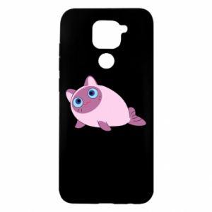 Etui na Xiaomi Redmi Note 9/Redmi 10X Purple cat mermaid