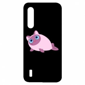 Etui na Xiaomi Mi9 Lite Purple cat mermaid