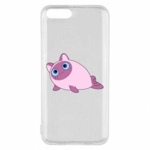 Etui na Xiaomi Mi6 Purple cat mermaid