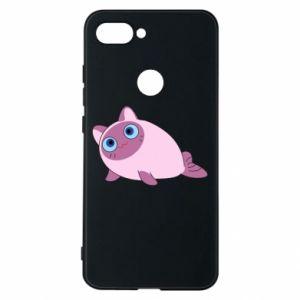 Etui na Xiaomi Mi8 Lite Purple cat mermaid
