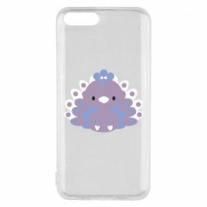 Phone case for Xiaomi Mi6 Purple peacock - PrintSalon