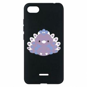 Phone case for Xiaomi Redmi 6A Purple peacock - PrintSalon