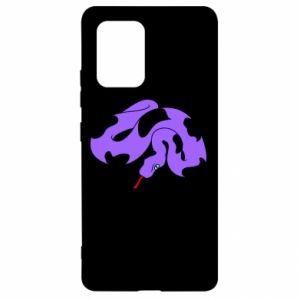 Etui na Samsung S10 Lite Purple snake