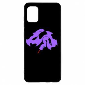 Etui na Samsung A31 Purple snake
