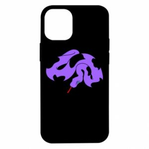 Etui na iPhone 12 Mini Purple snake