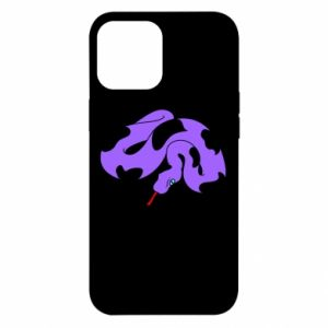 Etui na iPhone 12 Pro Max Purple snake