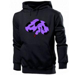 Men's hoodie Purple snake