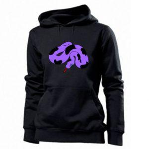 Women's hoodies Purple snake