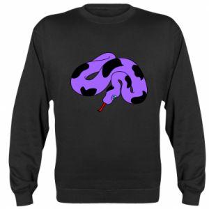 Bluza Purple snake