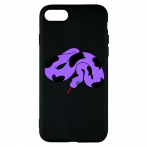 Phone case for iPhone 7 Purple snake