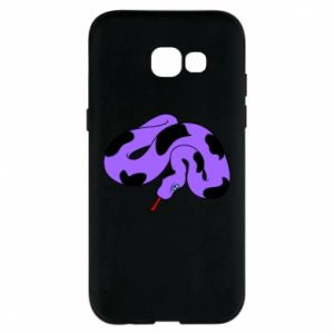 Phone case for Samsung A5 2017 Purple snake