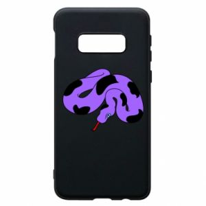 Phone case for Samsung S10e Purple snake