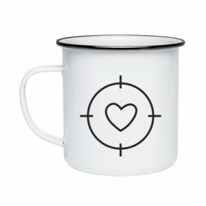 Enameled mug Purpose