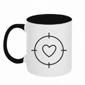 Two-toned mug Purpose