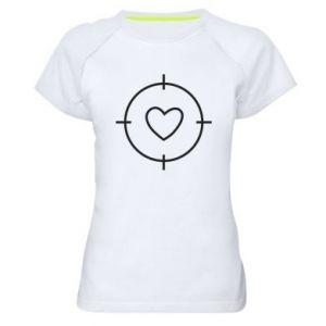 Women's sports t-shirt Purpose