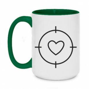 Two-toned mug 450ml Purpose