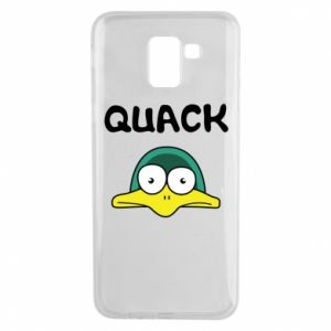 Etui na Samsung J6 Quack