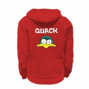 Bluza na zamek dziecięca Quack