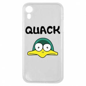 Etui na iPhone XR Quack