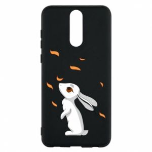 Phone case for Huawei Mate 10 Lite Rabbit looks at the leaves - PrintSalon