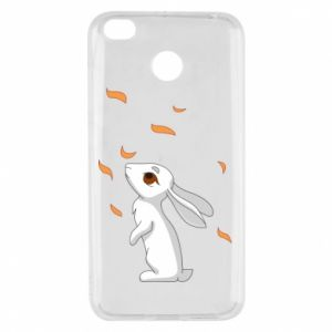 Xiaomi Redmi 4X Case Rabbit looks at the leaves