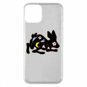 Etui na iPhone 11 Rabbit with flowers