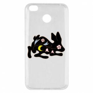Etui na Xiaomi Redmi 4X Rabbit with flowers