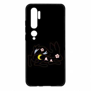 Xiaomi Mi Note 10 Case Rabbit with flowers