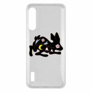 Etui na Xiaomi Mi A3 Rabbit with flowers