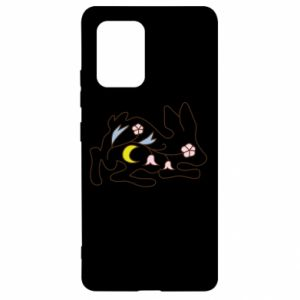 Etui na Samsung S10 Lite Rabbit with flowers