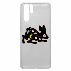 Etui na Huawei P30 Pro Rabbit with flowers